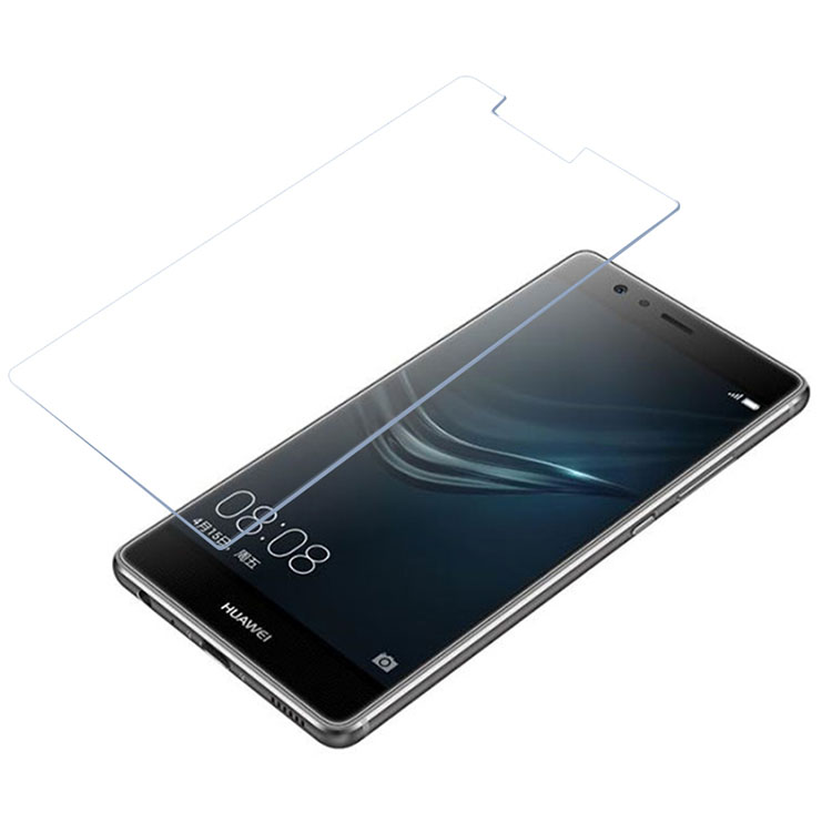 Ultra thin 0.26mm curved full cover tempered glass screen protector for Huawei P9