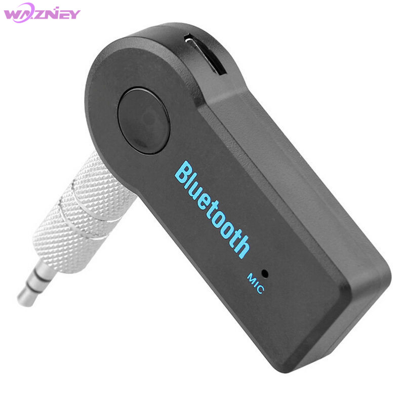 Nirkabel Mobil Bluetooth Receiver Adaptor 3.5 Mm AUX Audio Stereo Musik Hands-Free Rumah Mobil Bluetooth Audio Adapter