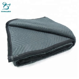 Wholesale Hot Selling used moving pads ,durable furniture pad ,polyester moving blanket standard size