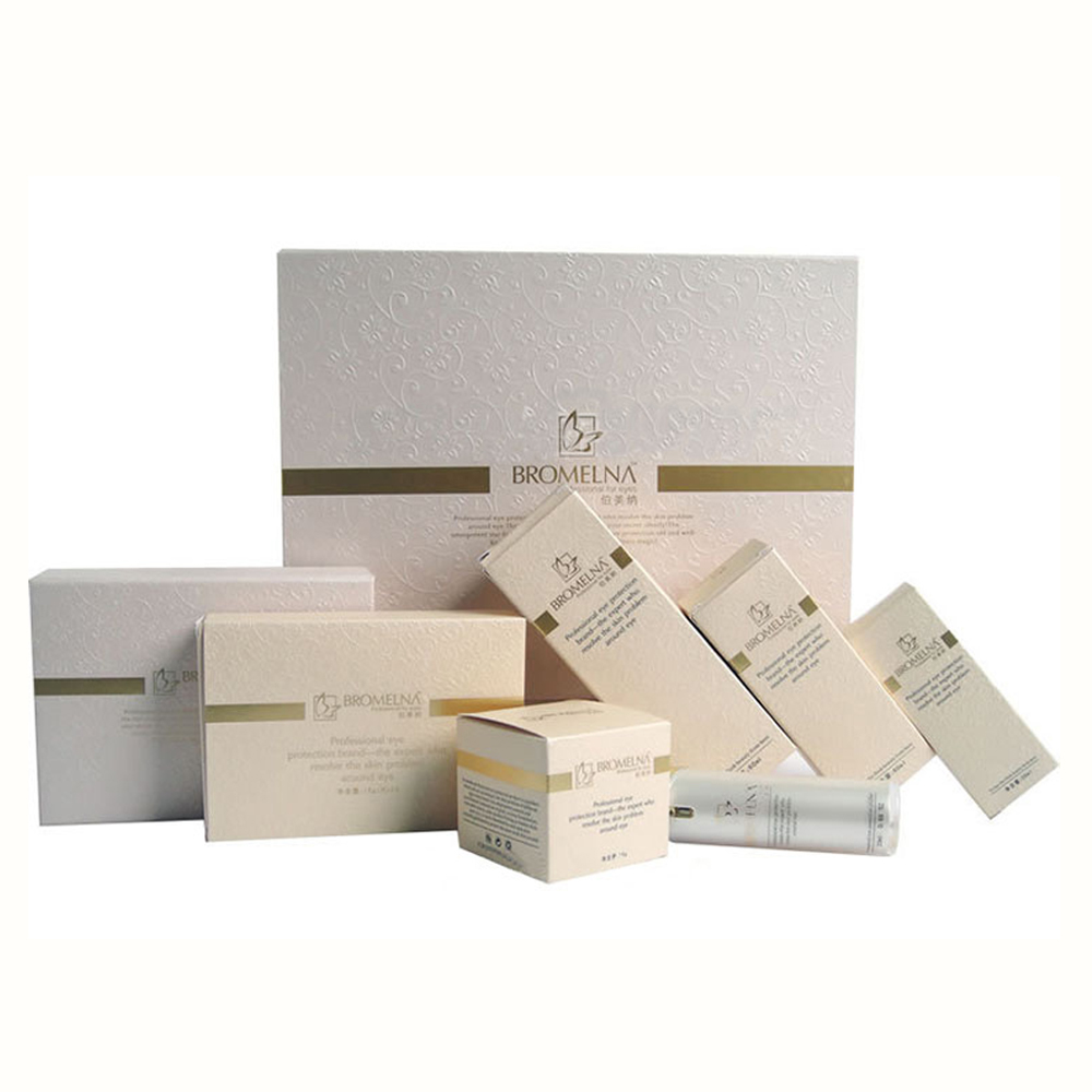 Customized Cosmetic Perfume Soap Packaging Paper Box with Logo Hot Gold Foil and Emboss