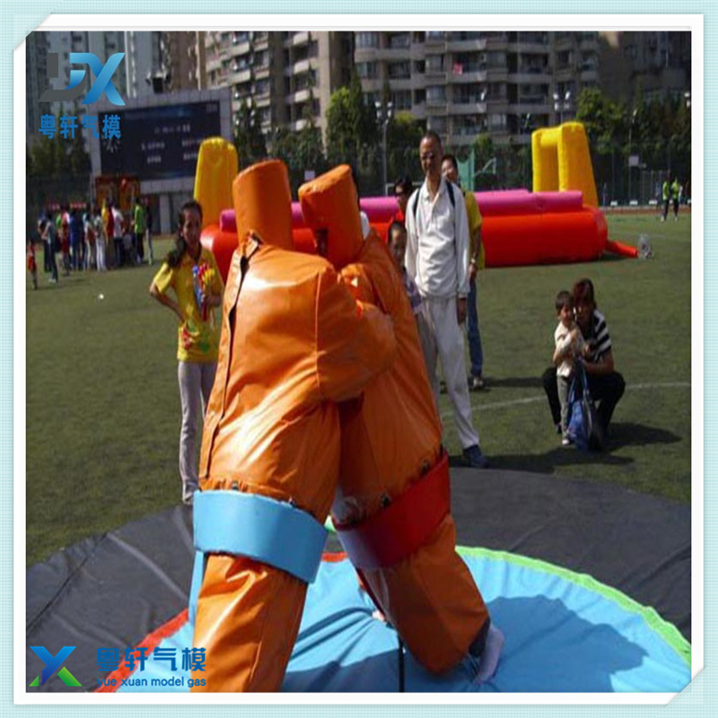 High quality inflatable sports games/ sumo suits sumo wrestling outdoor play fun