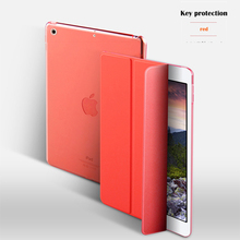 for ipad air 2 new case clear thin 0.5mm soft TPU transparent back cover shockproof bumper for ipad 3