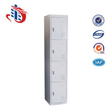 Home sports steel 4 compartments lockers with CKD package