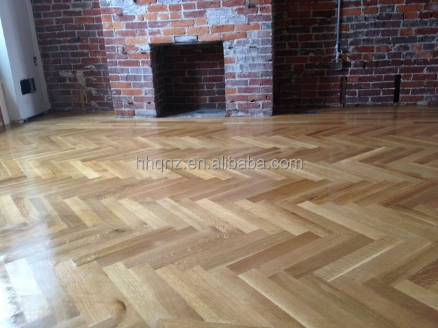 Fish bone OAK HERRINGBONE PARQUET FLOORING