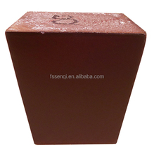 Hot in stock square bed feet 6 wooden footstool furniture legs MJ-1237