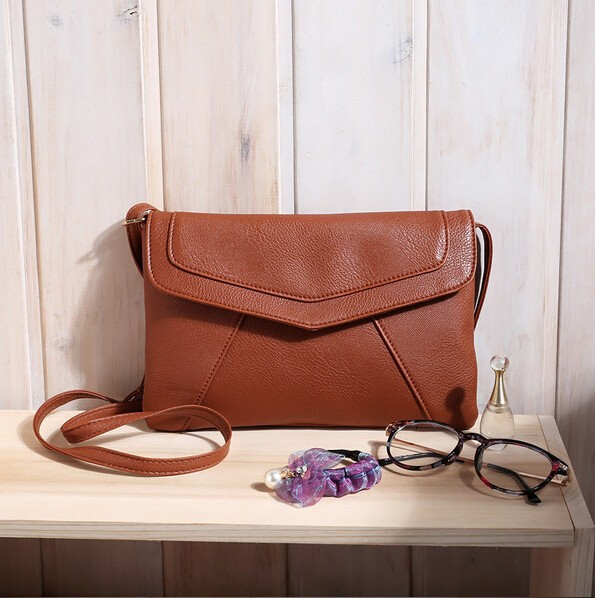 Envelope Pu Leather Women Handbag Shoulder Messenger Bags