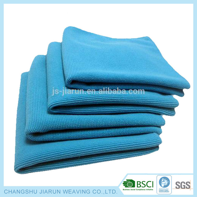 Made in China cheap polyester wash clean dry 100% towel manufacture