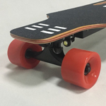 90mm wheel brushless hub motor kids canadian maple wood electro skateboard