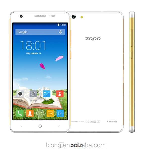 ZOPO ZP720 Mobile Phone 5.3 Inch IPS Screen MT6732 Quad Core 1.5GHz 1GB RAM 16GB ROM Android 4.4