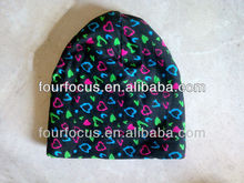 children cotton printed knit hat