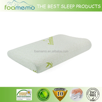 bamboo pillow slow rebound memory foam with removable cover
