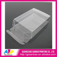 Bespoke semi transparent PP box soft collapsible box plastic
