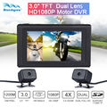 "3.0"" Dual Lens Full HD 1080P Motor DVR Video Recorder Dash Camera Professional"