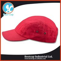 Red customizing hip hop wide sport hat