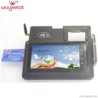 Tablet 3G POS Terminal with Barcode NFC Android4.0