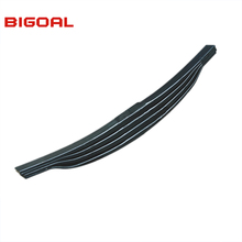 Parabolic heavy duty truck leaf spring for MAN VOLVO,BENZ with 4 leaves