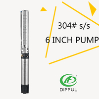 6 inch electric solar water pump for agriculture washing machine