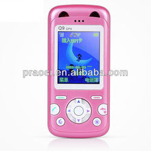 Q9 Mobile Phone with SOS GPS Postion Tracking Kids GPS mobile phone