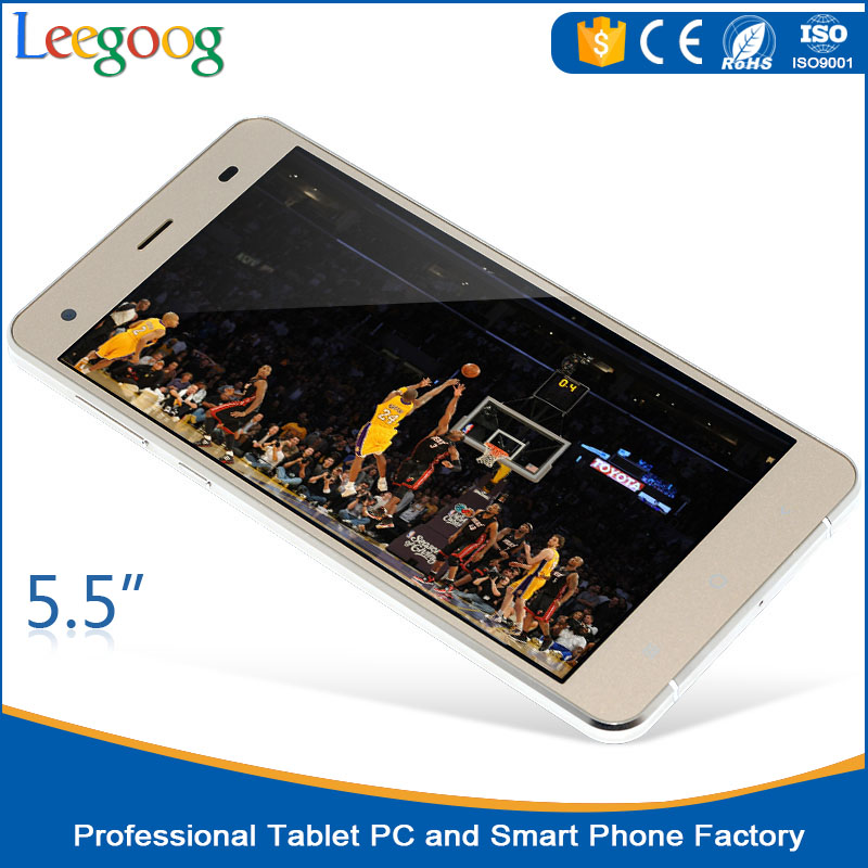5.5 inch cheapest SC7731 Quad core custom android mobile phone