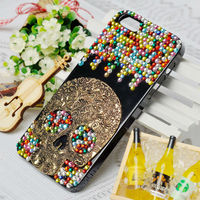 Skull Crystal Bling Phone Case for Iphone 5s/5c/4/4s