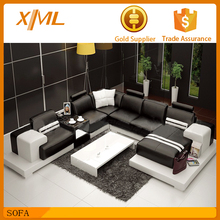 china style fashion design wine red sofa bed