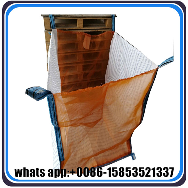 1 tonne tote bags, plastic big jumbo ton bag specification for firewood packaging
