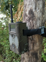 12MP Digital Trail Camera GSM/MMS/GPRS/Email/SMS Command Black Flash