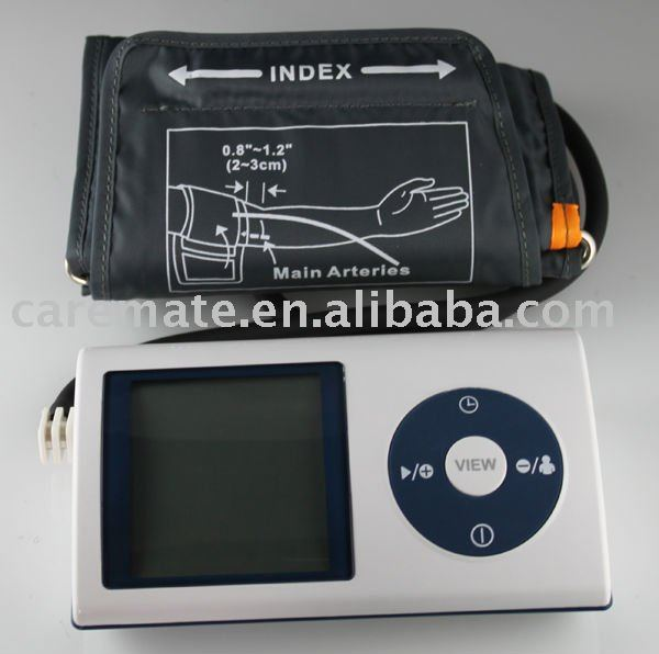 Upper Arm Digital Sphygmomanometer, digital blood pressure monitor