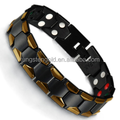 High quality 316 stainless steel bio magnetic bracelet men