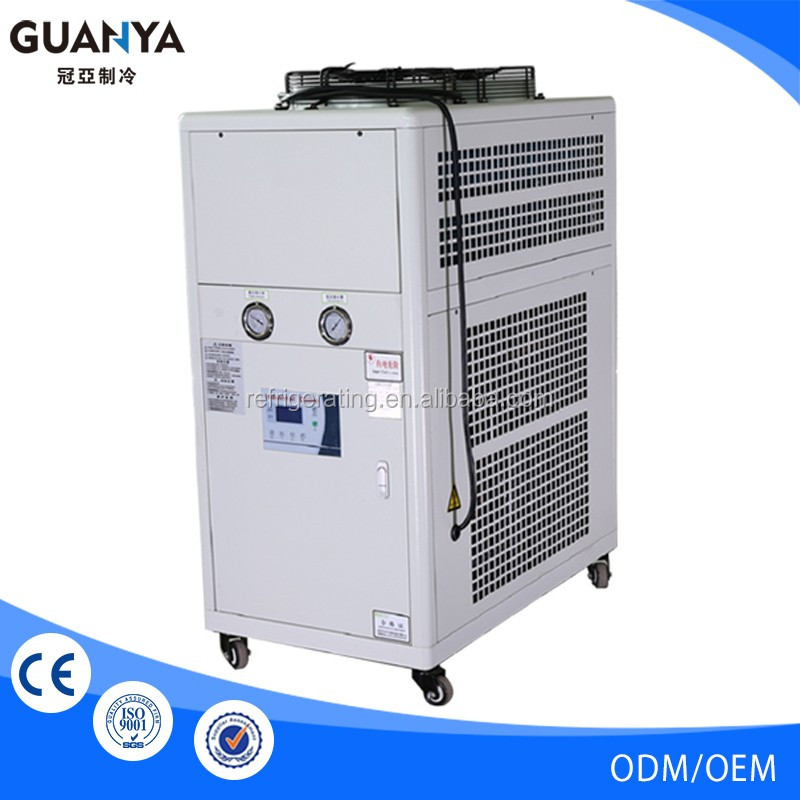 GY-2017 Air Cooled industrial Water Chiller for plastic moulding