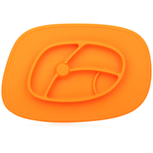 personalized funny non-slip silicone childrens plates and cups set
