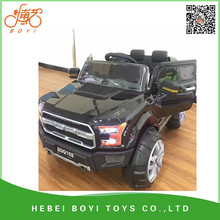 kids battery powered Mp3 2.4G bluetooth remote control battery operated ride on toy car directly from factory