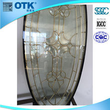 China Manufacture Wholesale interior decorative door art glass