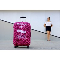 Luckiplus High Elasticity Spandex & Polyester Beatiful Luggage 250gsm Cover