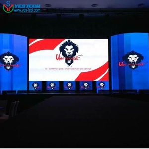 Time and Effort Saving indoor advertise led video screen big