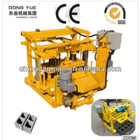 low price mobile egg layer machine QT40-3A block/brick making machine for sale from Dongyue machinery group