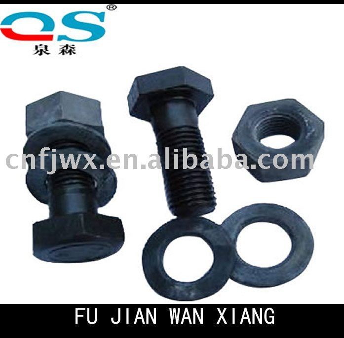 Professional treatment Track Shoe Bolt and Nut Manufacturer/Excavator Part