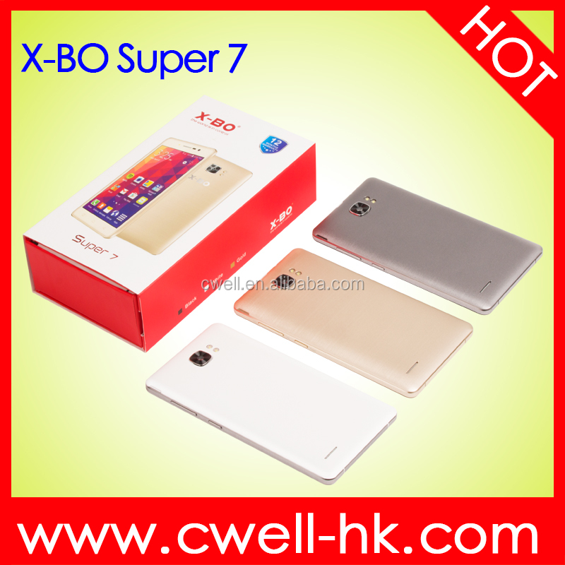X-BO Super 7 5.0 Inch Capacitive Touch Screen MTK6572W dual core Android 6.0 Good price Ultra Slim Android Smart Phone