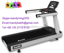 2015Hot Promotional Bailih fitness 482B /touch screen /commercial treadmill / cardio machine / gym equipment /AC power / Aerobic