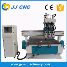 wood cnc router JJ three heads cnc router for woodworking cabinet