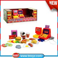 B/O Toy Cash Registers with Scanner for Kids