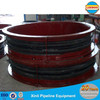 Flue pipe flange type rubber bellows compensator from China manufacturer