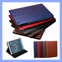 Book Style Slim Cover Case for iPad 5 PU Leather Stand Case