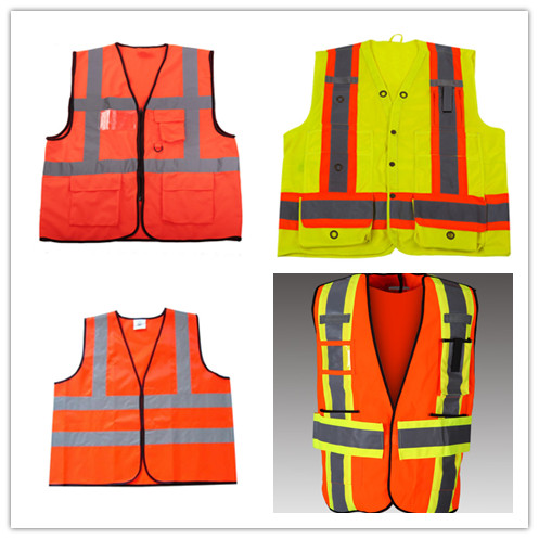 hi vis safety work jacket reflective security jacket for men