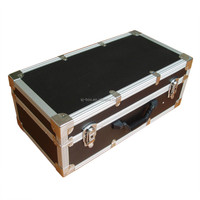 Black Portable Muti-purpose Lockable Travel Aluminum Hard Tool Cases