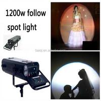 wholesale dj equipment 1200w/2500w hmi lights long throw follow spot light disco set used