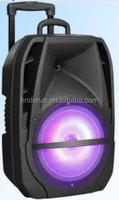 good LED display trolley speaker amplifier 8 inch