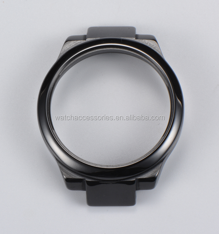 OEM high quality watch case 316L stainless steel watch case with water resistant