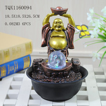 Highlight the trend characteristics laughing buddha water fountain