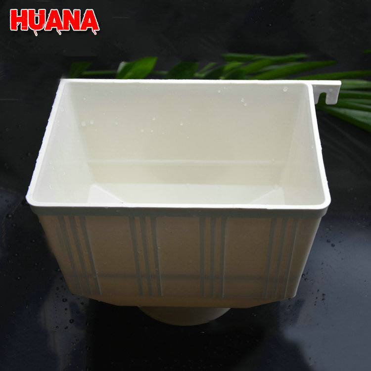 4 inch plastic water pipe fitting PVC square roof drain